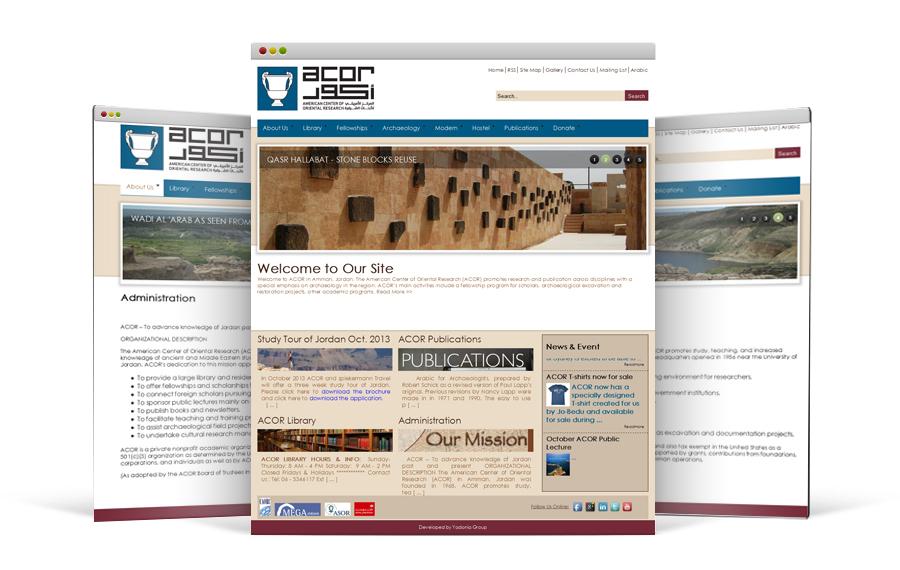 مجموعة يادنيا تطور موقعاً إلكترونياً تفاعلياً للمركز الأمريكي للأبحاث الشرقية