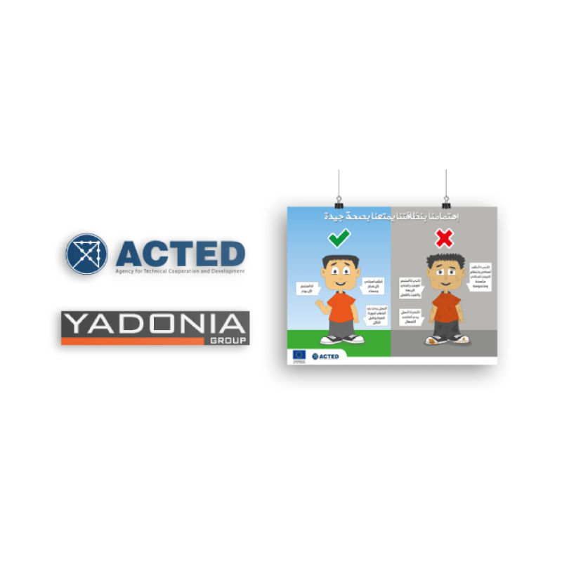 Yadonia Group Developed Four Poster Designs for ACTED