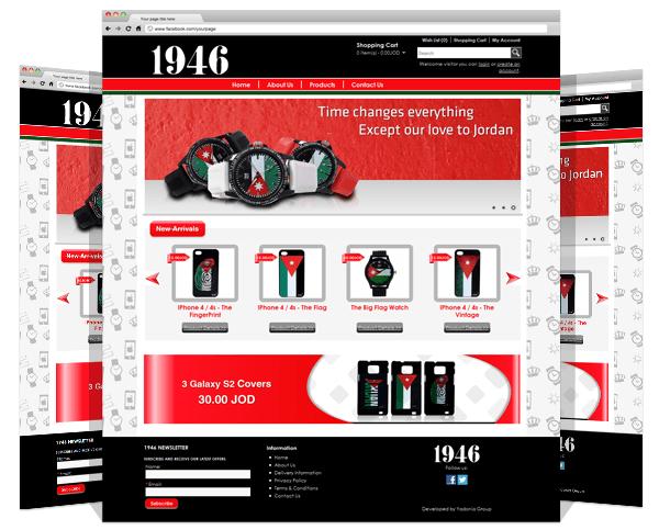 1946 Jordan e-Commerce Portal Development by Yadonia Group