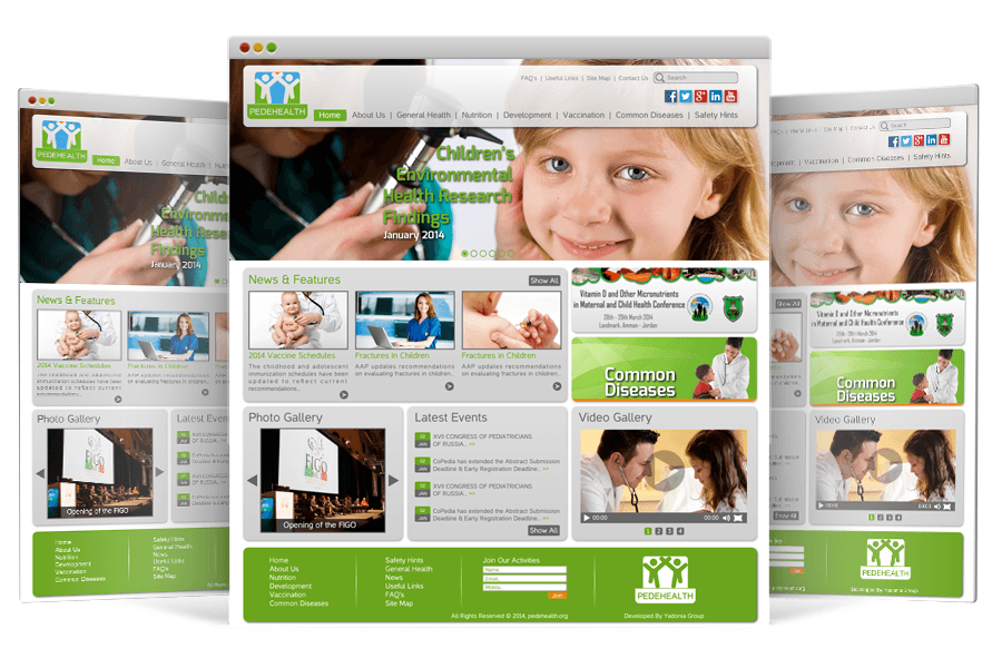 Responsive Website Design for Dr. Najwa Khoury by Yadonia Group