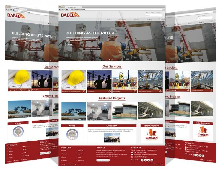 Website Development For Babel Contracting Co.