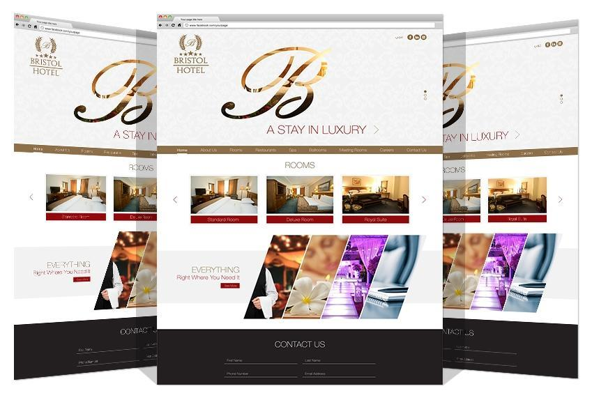 Yadonia Group Developed Bristol Hotel Website
