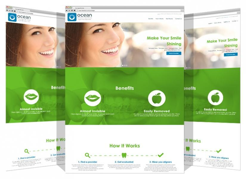 Yadonia Group Designed & Developed Ocean Aligners Co. Website