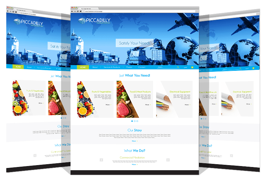 Yadonia Group Developed a Website for Piccadilly Co.