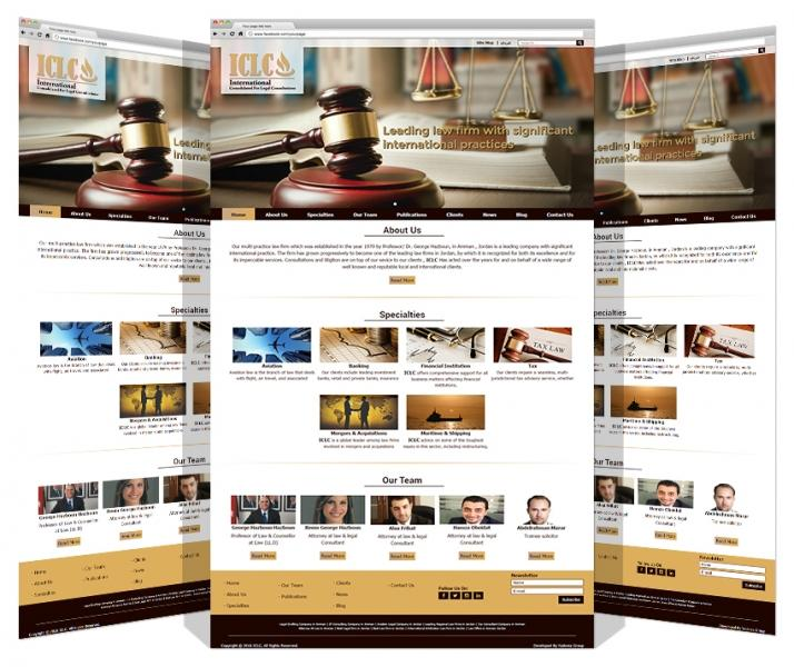 Yadonia Group Designed & Developed ICLC Website