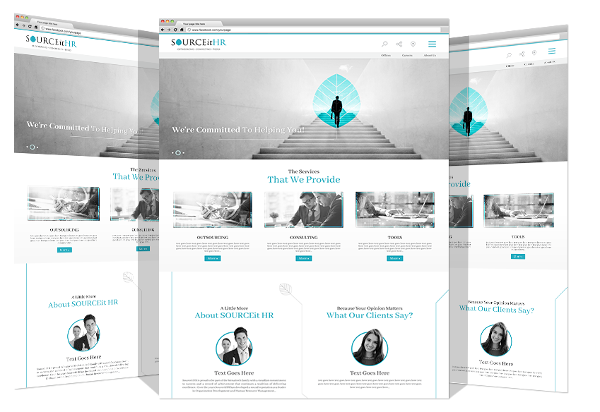 Website Development For SOURCEit HR Co.