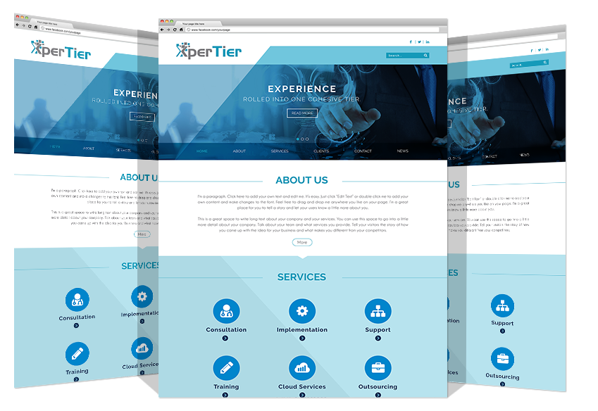 Website Development For XperTire Co. By Yadonia Group