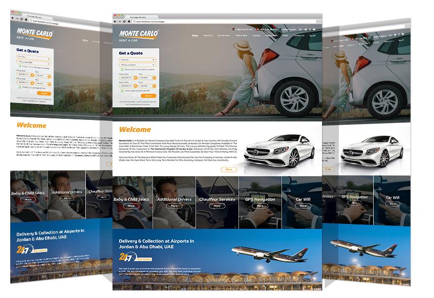 تعاون بين مجموعة يادنيا وشركة مونتي كارلو لتصميم وتطوير موقع إلكتروني