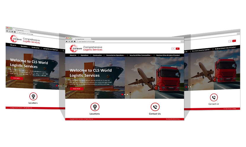 New Website For CLS WORLD By Yadonia Group