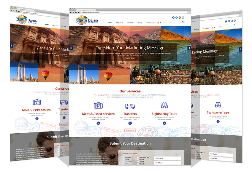 New Logo And Website For Darna Tourism