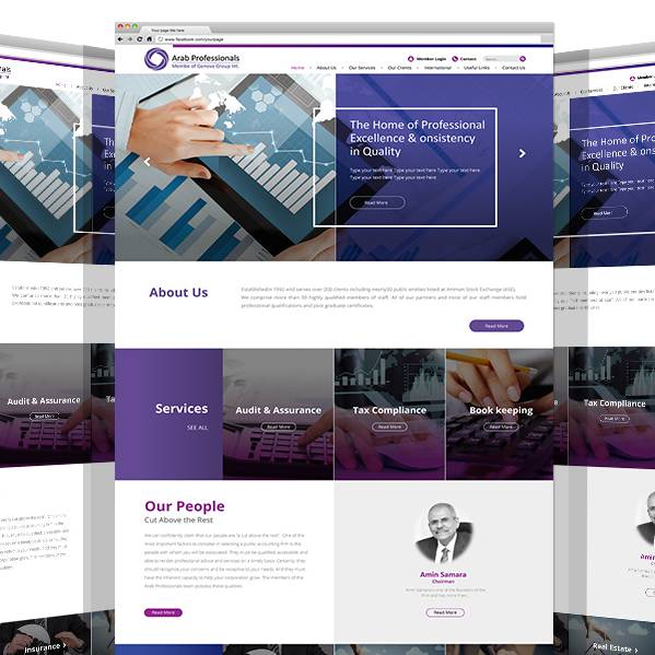 Relaunch of Arab Professionals Co. Website By Yadonia Group