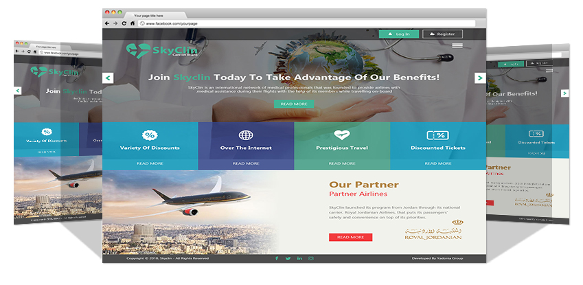 New Website For Sky Clinic Co.