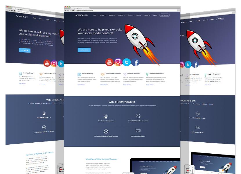موقع شركة فينيوم الجديد من قبل مجموعة يادنيا