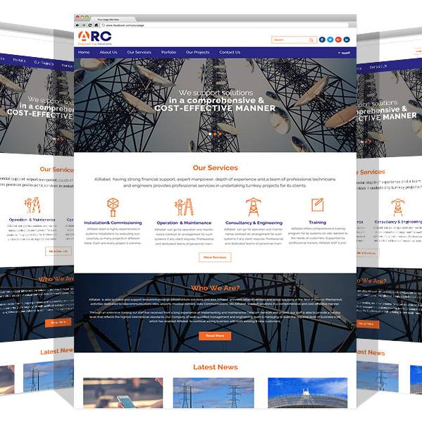 Re-development for Alrabet Website By Yadonia Group