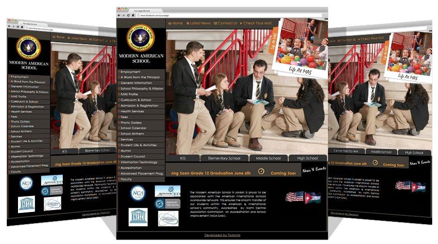 المدرسة الأميريكية الحديثة