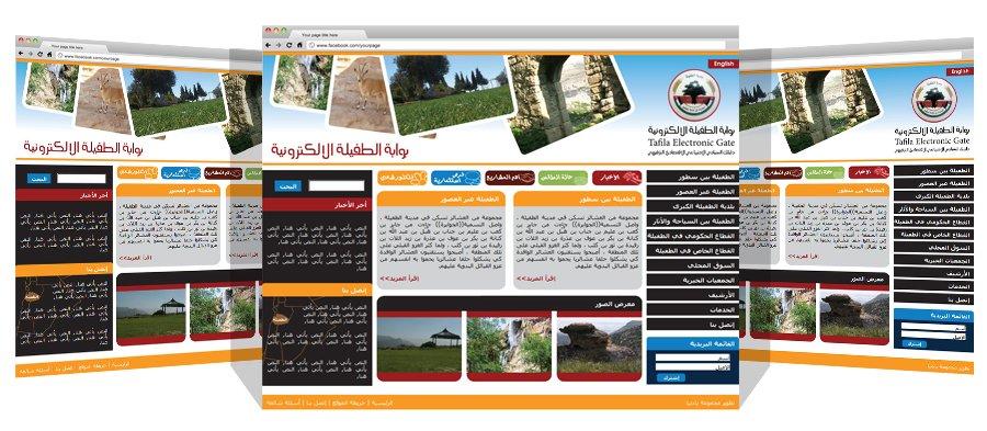 Tafila City Portal
